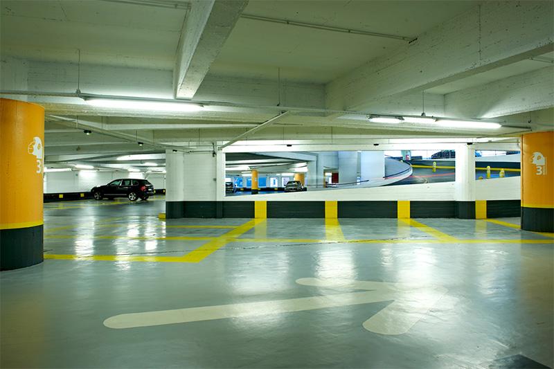 Les parking à proximité